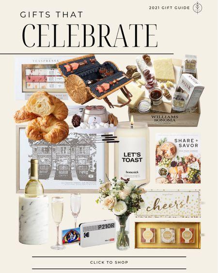 Gifts that celebrate 🎉  custom home portrait, picnic basket, flowers and more.   #LTKGiftGuide #LTKunder100 #LTKstyletip