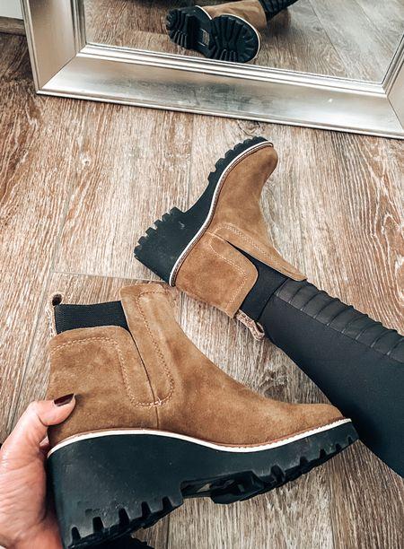 Dolce Vita Huey H2O boots. Fits TTS   Fall, fall boots, shoes, Chelsea boots, lug boots, sale  #LTKsalealert #LTKshoecrush #LTKstyletip