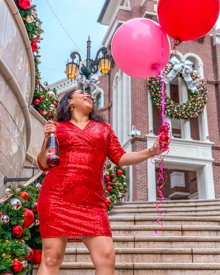 Tis the season for red sequin dresses! Wearing an XL and it fits like a glove. Shop it here along with a few other options: http://liketk.it/32SXA @liketoknow.it #liketkit #LTKunder50 #LTKstyletip #LTKcurves