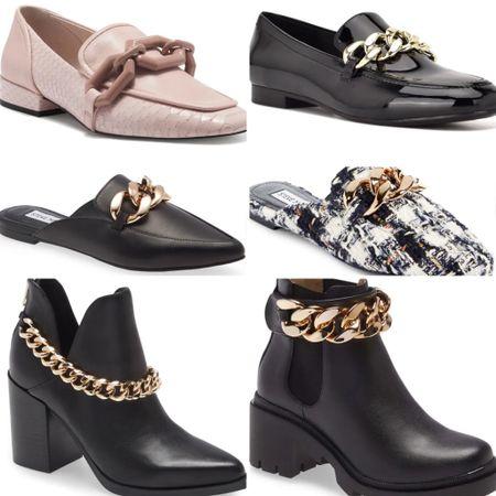 Chain shoes #thedailydupes  #LTKSeasonal #LTKshoecrush #LTKSale