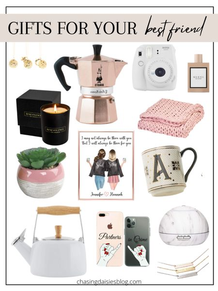 Shop these gifts for your best friend. These are the best gifts for BFF or gifts for her. If you're looking for gifts for your best friend then you'll love these BFF gifts! #giftsforbff #giftsforbestfriend #giftguide #giftsforher #liketkit @liketoknow.it #LTKunder50 #LTKSeasonal #LTKunder100 http://liketk.it/38rxH