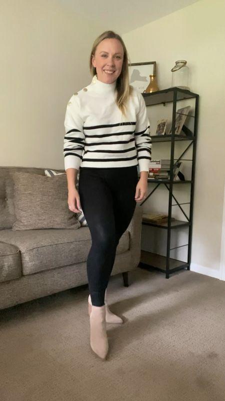 Striped sweater from Amazon   #LTKHoliday #LTKstyletip #LTKunder50