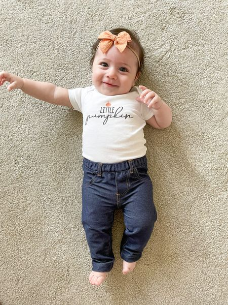 Happy National Daughter's Day to our little pumpkin! 🧡🤍💛  #LTKHoliday #LTKSeasonal #LTKbaby