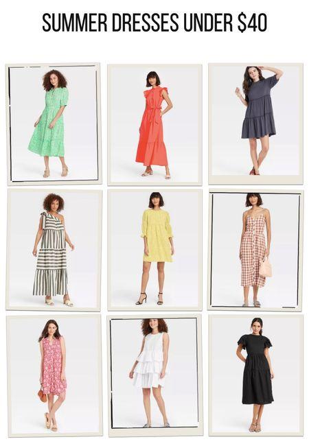 9 amazing dresses for summer all under $40! I have 3 of them and love them all!   #LTKSeasonal #LTKunder100 #LTKunder50
