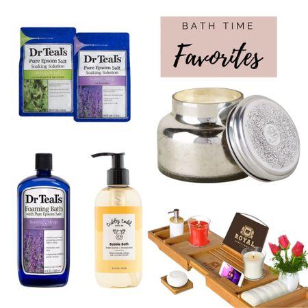 Bath Time Favorites - At Home Spa   #LTKbeauty #LTKbump #LTKbaby