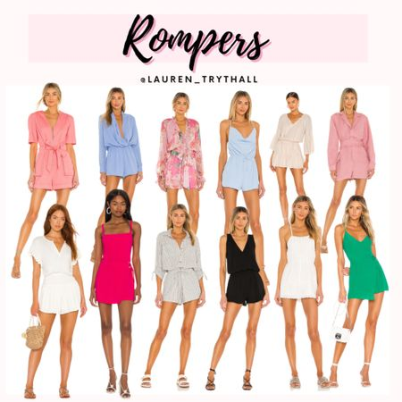 Rompers are the best !! These ones are so cute and perfect for summer, everyday, or even a vacation outfit! Rompers are easy to style   #LTKunder100 #LTKSeasonal #LTKstyletip