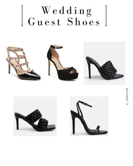 Black heels for Wedding Guests.  You can instantly shop all of my looks by following me on the LIKEtoKNOW.it shopping app.   @liketoknow.it http://liketk.it/3hiwl   #liketkit #LTKstyletip #LTKshoecrush #LTKwedding