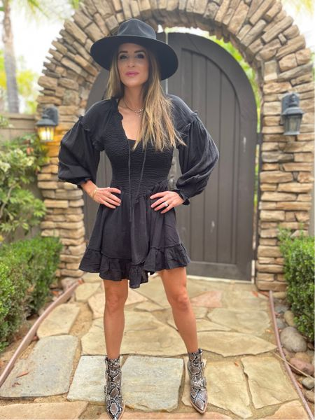 A #littleblackdress Is a blank canvas that can be dressed up or down with accessories. Every woman should have one in her closet that can be worn anywhere from a wedding to a funeral!