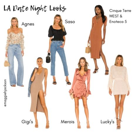 Time for date night! Head to one of LA's hottest new restaurants in one of these stylish outfit ideas from REVOLVE!  #LTKstyletip #LTKSeasonal