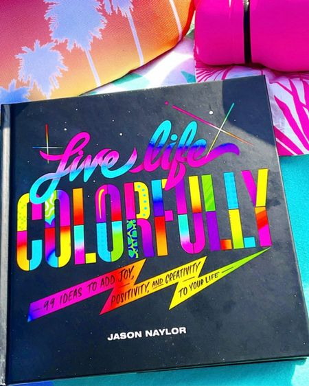 LIVE LIFE COLORFULLY... BEST advice (and also the title of one of my new most favorite books AND theme of one of my fave NYC murals by the same artist, Jason Naylor - this is my pic there a few summers back!)...  What's a good book you've loved recently?!?   P.S. all my fave book posts are tagged with #nicolelovesthisbook on IG and I have a highlight of some of my faves too - always looking for recs if you have one to share!  http://liketk.it/3a4zR #liketkit @liketoknow.it