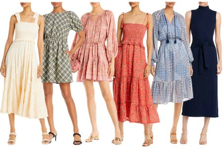 Dresses for now and into fall! Last day to shop and save an extra 20%/25% when you add to your shopping bag.  . . . On sale, under 100, Bloomingdale's, fall dress, fall dresses, midi dress, fall transition, smocked dress  #LTKSeasonal #LTKstyletip #LTKunder100