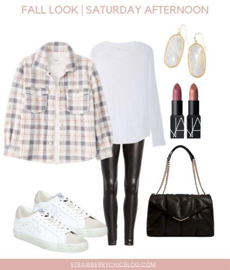 Fall Saturday afternoon outfit idea. Comfort meets cute!   #LTKstyletip #LTKunder100 #LTKSeasonal