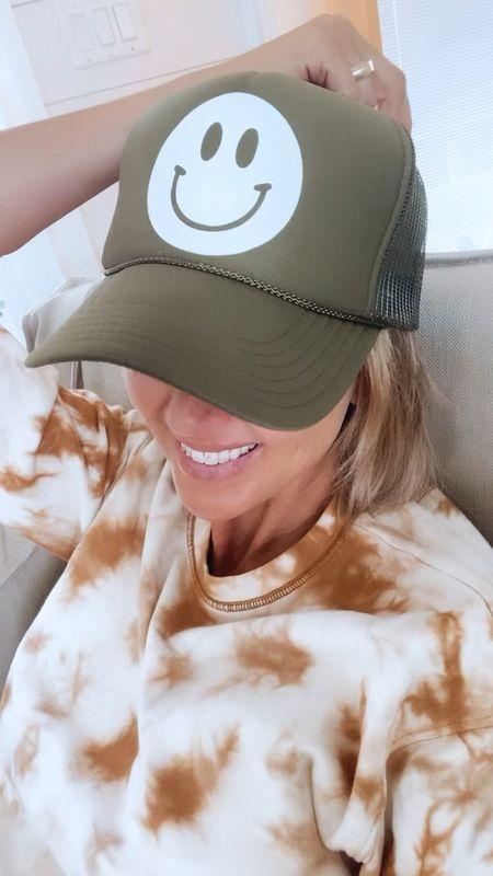 smiley trucker hat   #LTKSeasonal #LTKstyletip #LTKunder50