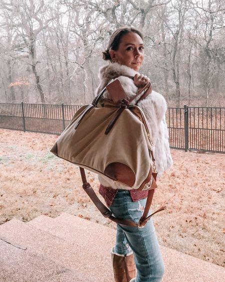 Every traveler needs a good weekender bag. http://liketk.it/36INi #liketkit @liketoknow.it #travel #travelbag #travelgear