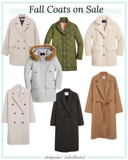Fall coats on sale   #LTKsalealert #LTKstyletip #LTKSeasonal