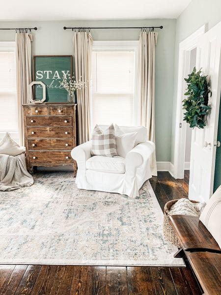 Sherwin Williams Sea Salt Neutral cozy living room. http://liketk.it/3jiWa #liketkit @liketoknow.it #LTKhome @liketoknow.it.home