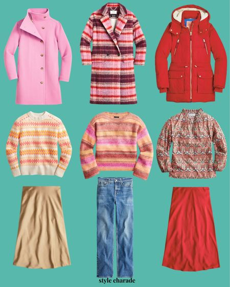 Winter outfits, fall sweaters, holiday outfit, slip skirts, winter sweaters, fall jackets, winter jackets   #LTKGiftGuide #LTKSeasonal #LTKHoliday