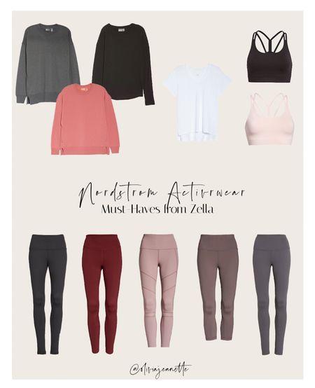 Activewear from Zella 🙌🏼 available at Nordstrom   #LTKunder100 #LTKunder50 #LTKfit