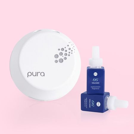 Currently crushing on the pura smart Home device and Capri blue fragrance! #home #diffuser #fragrance