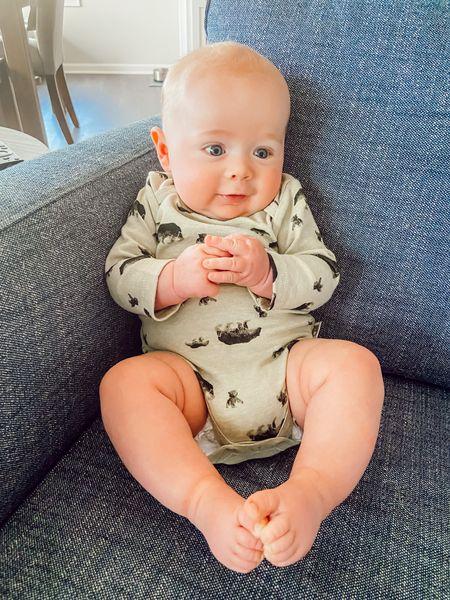 Similar baby boy onesie linked #liketkit @liketoknow.it http://liketk.it/3eVnd
