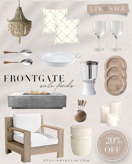 LTK DAY SALE- 20% Off- USE LINKS HERE TO RECEIVE SALE DISCOUNT CODE- home decor, FrontGate, patio decor, outdoor furniture, outdoor decor, summer home essentials,  Stylinaylinhome  @liketoknow.it #liketkit http://liketk.it/3hoL1       #LTKDay #LTKsalealert #LTKunder50