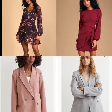 A few dresses… a few blazers  #LTKworkwear #LTKSeasonal #LTKstyletip