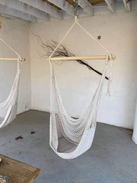 Macrame swing, hammock swing, outdoor patio, patio furniture, boho decor   #LTKsalealert #LTKGiftGuide #LTKhome