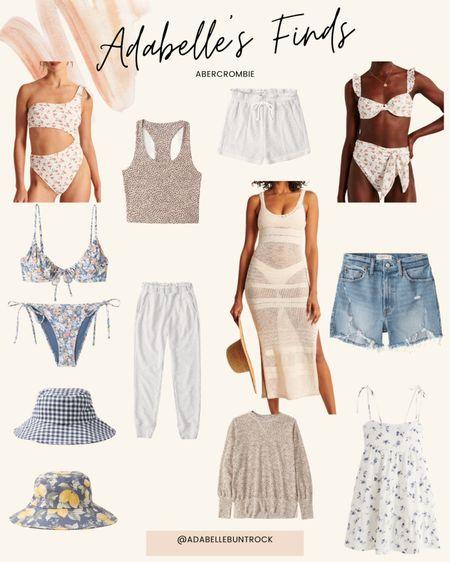 Abercrombie sale swim mom shorts denim dress sweatpants bucket hat @liketoknow.it http://liketk.it/3hlNg #liketkit #LTKDay #LTKunder100 #LTKunder50