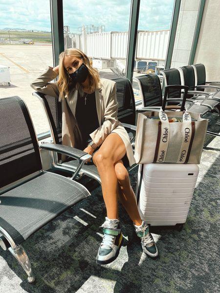 Travel look ✈️☁️  #LTKstyletip #LTKshoecrush #LTKtravel