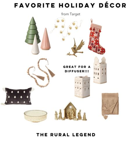 It may still be October, but all the good Christmas decorations sell out fast! I put together my favorite holiday decor from @Target so you can snag what you love before they're gone!  #LTKHoliday #LTKSeasonal #LTKhome