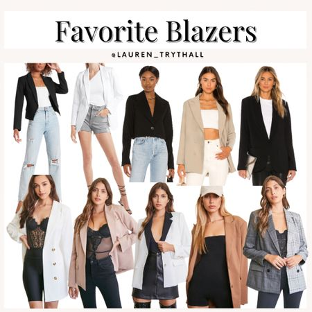 Blazers are the perfect addition to any fall outfit. Easily elevates any outfit and makes you look so put together. Must have for a fall outfit   #LTKSeasonal #LTKstyletip #LTKworkwear