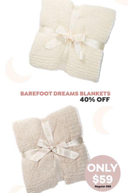 http://liketk.it/3hSod #liketkit @liketoknow.it #LTKsalealert Barefoot Dreams blanket on sale