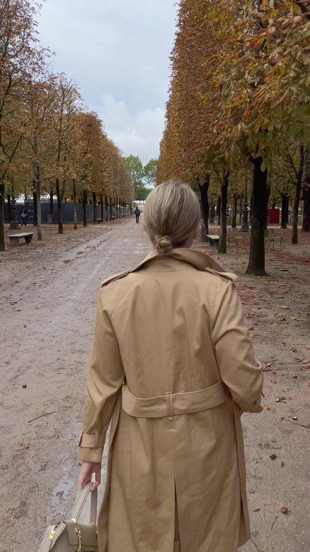 Sezane trench coat (8)   #LTKSeasonal