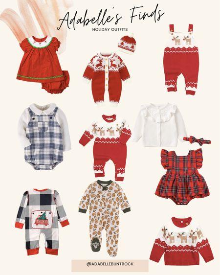 Christmas holiday outfits baby amazon kids   #LTKHoliday #LTKbaby #LTKSeasonal