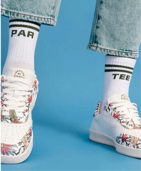 THE cutest socks 🧦 🙌🏼🤍  #LTKshoecrush #LTKstyletip #LTKunder50