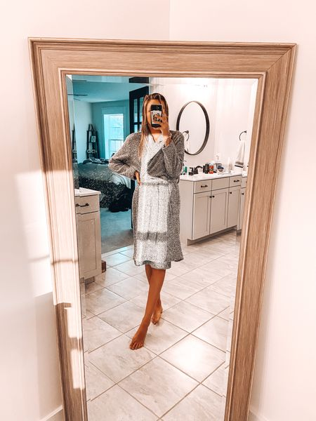 Nothing like jumping into a cozy robe after a long day of work 🤍  #LTKhome #LTKunder50 #LTKstyletip