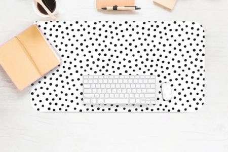 Cheetah desk keyboard mat for home office   #LTKunder100 #LTKhome #LTKGiftGuide