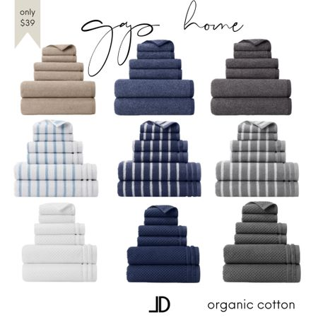 """Gap Home Decor Gap bath, Gap hand towel, Gap towels, gap nursery decor towel  100% ORGANIC COTTON: Made with high-quality, yarn-dyed terry in 550 GSM   Follow me and style with me! I am so glad and grateful you are here!🥰 @lindseydenverlife 🤍🤍🤍   •SUSTAINABLE: GOTS (Global Organic Textile Standard) and OEKO-TEX® Made in Green certified free of harmful chemicals •SUPER SOFT & ABSORBENT: Highly absorbent with a smooth, super-soft handfeel achieved with combed cotton yarn •HEATHERED LOOK: Dyed with a melange coloring method for a heathered look •6-PIECE SET: Includes 2 generously sized bath towels (30"""" x 54""""), 2 hand towels (16"""" x 28""""), and two washcloths (13"""" x 13"""") •MIX & MATCH: Coordinates with Gap Home Ombre Bath Rug, Solid Textured Organic Cotton Shower Curtain, and Ombre Bath Accessory Set •MULTI-USE: Perfect for master bathroom, guest bathroom, powder room, and as a housewarming gift or gift for college students •EASY CARE: Machine wash warm, wash dark colors separately, do not bleach, tumble dry low, do not iron, do not dry clean, keep away from fire   #gap #gaphomedeocor #gapbath #bathroomdecor #towel #towels  ______  Business Casual Old Navy Deals Walmart Finds Target Looks #GapHome Shein Haul Nordstrom Sale  Wedding Guest Dresses Plus Size Fashions Back to School Maternity Style Teacher Outfits Living Room Decor Bedroom Decor Kitchen Decor Nursery Decor Home Decor Patio Decor #Leeannbenjamin #stylinbyaylin #cellajaneblog #lornaluxe #lucyswhims #amazonfinds #walmartfinds #interiorsesignerella #lolariostyle   Follow my shop on the @shop.LTK  #LTKhome #LTKunder50 #LTKkids"""