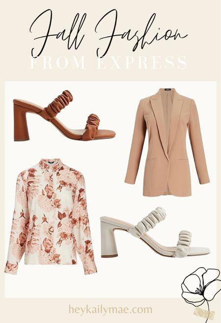 Work wear for fall  Fall office wear  Ruched block heels   #LTKSale #LTKSeasonal #LTKHoliday