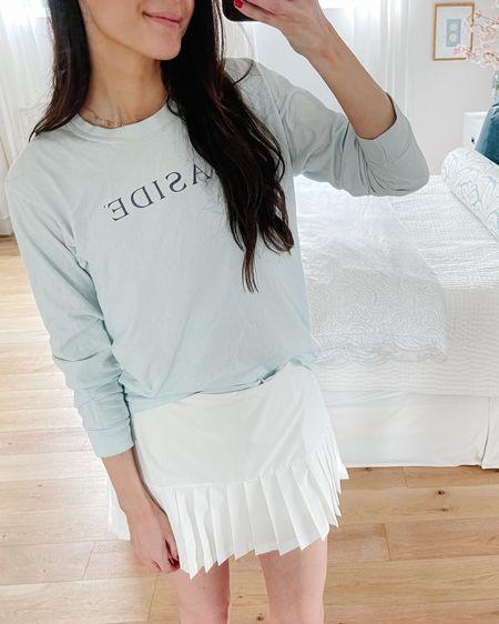 Prettiest tennis skirt! This is a medium but I need a small (it's true to size) http://liketk.it/3h76L #liketkit @liketoknow.it