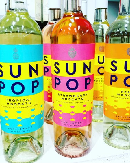 Cheers to a wine label that's perfect for gifting and super on-brand for The Sunny La La! Saw these cute moscatos out doing a big shop today and snagged some for some sunny custom gifting!  http://liketk.it/3a4yU #liketkit @liketoknow.it