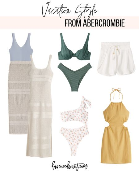 Vacation style from Abercrombie! Currently 20% off site wide for LTK Day!   #LTKDay #LTKtravel #LTKSeasonal
