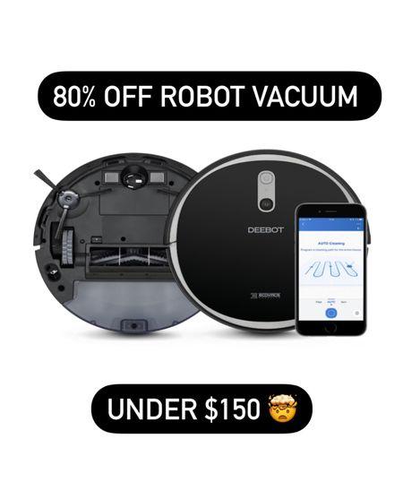 This robot vacuum is under $150!   #LTKGiftGuide #LTKhome #LTKtravel