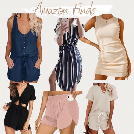 http://liketk.it/3jfdR #liketkit @liketoknow.it #LTKunder100 #LTKunder50 Amazon finds, found it on Amazon, summer outfit, summer style, vacation outfit, vacation style, beach outfit, honeymoon, bodycon dress, romper, designer inspired shorts, work wear, two piece sets, lounge sets, lounge attired, pjs, pajama, workout shorts, gym shorts, running shorts, dress, dresses, summer dress!