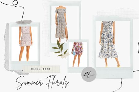 Summer florals under $100.  Wedding guest looks.  Summer dresses.   http://liketk.it/3grYV #liketkit @liketoknow.it