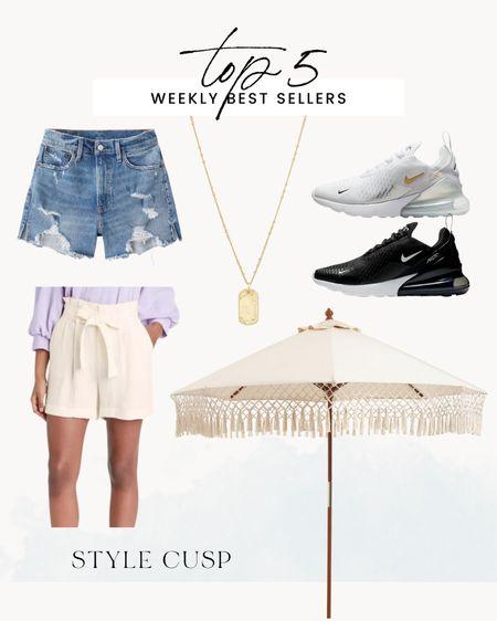 Abercrombie shorts, Nike 270, patio decor @liketoknow.it http://liketk.it/3k4Xc #liketkit