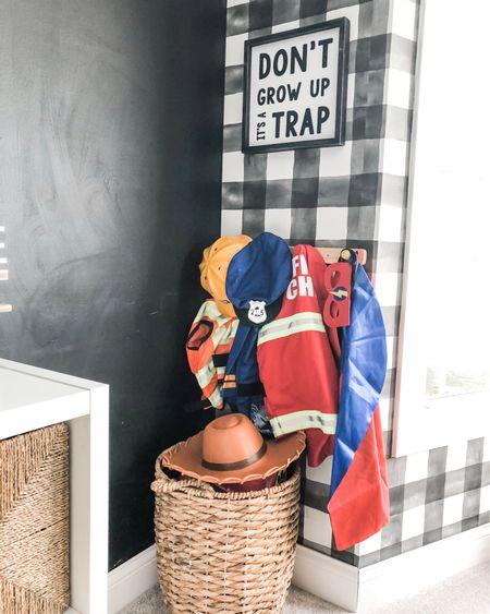 Modern playroom dress up area!    #liketkit @liketoknow.it http://liketk.it/36X3k #LTKhome #LTKkids @liketoknow.it.home