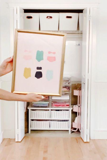 Craft Closet Summer Style  #LTKhome #LTKSeasonal #LTKkids