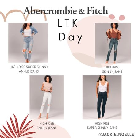 Need some new jeans?! Check out these Abercrombie finds, conveniently on sale this LTK day🥰 Download the LIKEtoKNOW.it shopping app to shop this pic via screenshot @liketoknow.it #liketkit #LTKDay #LTKsalealert #LTKstyletip http://liketk.it/3hdO3