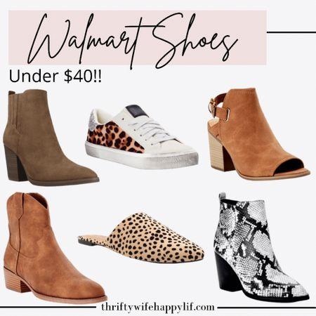 Walmart shoe finds!   #LTKunder50 #LTKstyletip #LTKshoecrush